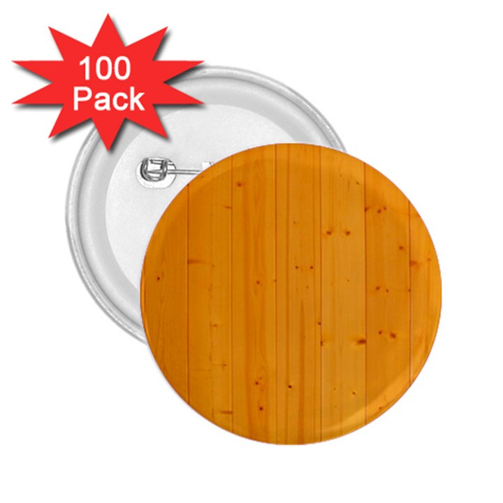 HONEY MAPLE 2.25  Buttons (100 pack)