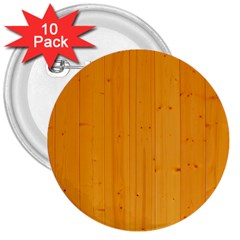 Honey Maple 3  Buttons (10 Pack)