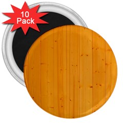 Honey Maple 3  Magnets (10 Pack)