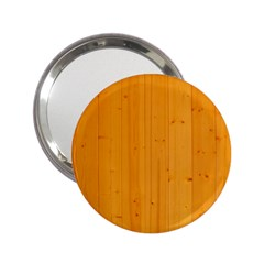 Honey Maple 2 25  Handbag Mirrors