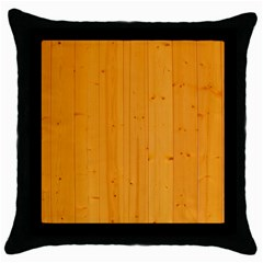 Honey Maple Throw Pillow Cases (black)