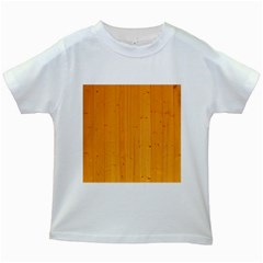Honey Maple Kids White T Shirts