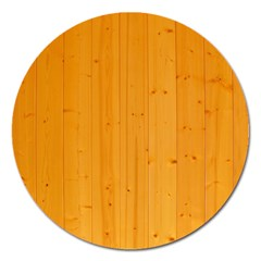 Honey Maple Magnet 5  (round)