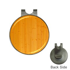 Honey Maple Hat Clips With Golf Markers