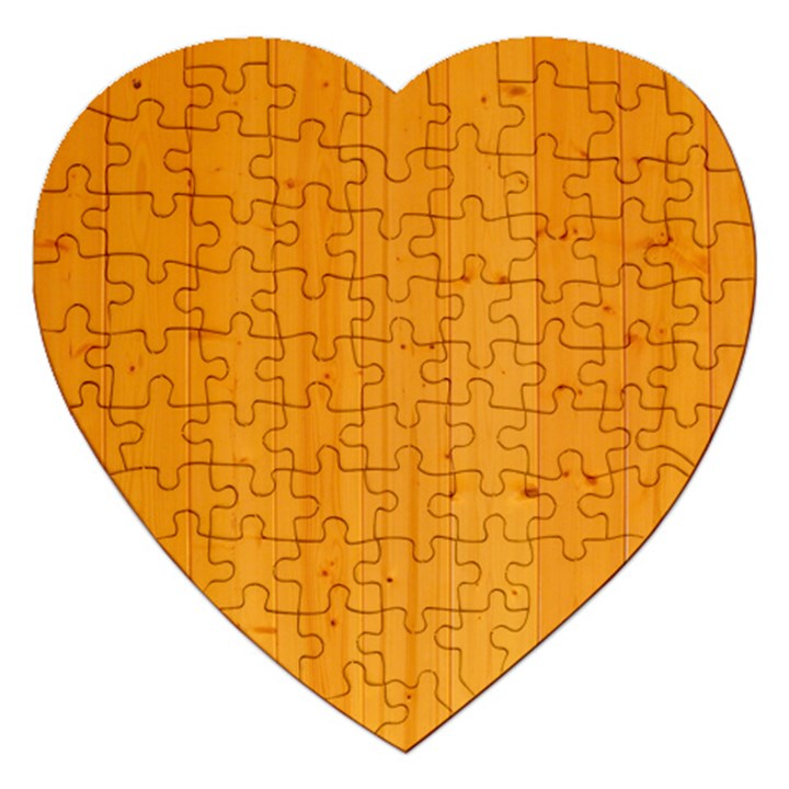 HONEY MAPLE Jigsaw Puzzle (Heart)