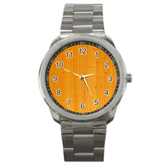 Honey Maple Sport Metal Watches