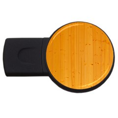Honey Maple Usb Flash Drive Round (4 Gb)