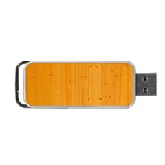 Honey Maple Portable Usb Flash (two Sides)
