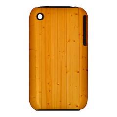 HONEY MAPLE Apple iPhone 3G/3GS Hardshell Case (PC+Silicone)