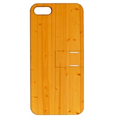 HONEY MAPLE Apple iPhone 5 Hardshell Case with Stand