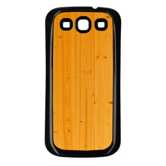 HONEY MAPLE Samsung Galaxy S3 Back Case (Black)