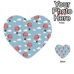 Hot Air Balloon Multi-purpose Cards (Heart)