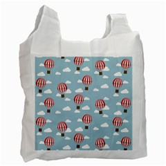 Hot Air Balloon Recycle Bag (Two Side)