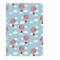 Hot Air Balloon Large Garden Flag (two Sides)