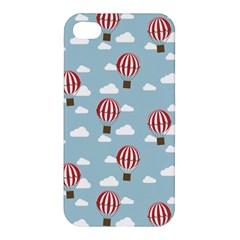 Hot Air Balloon Apple iPhone 4/4S Premium Hardshell Case