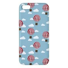 Hot Air Balloon iPhone 5S Premium Hardshell Case