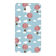 Hot Air Balloon Samsung Galaxy Note 3 N9005 Hardshell Back Case