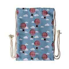 Hot Air Balloon Drawstring Bag (Small)