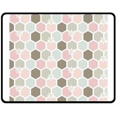Spring Bee Fleece Blanket (Medium)