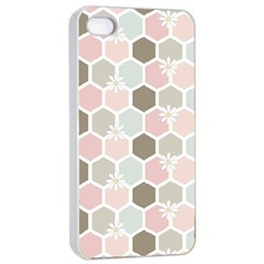 Spring Bee Apple Iphone 4/4s Seamless Case (white)