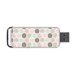 Spring Bee Portable Usb Flash (two Sides)