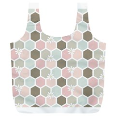 Spring Bee Full Print Recycle Bags (L)