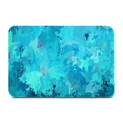 Splashes Of Color, Aqua Plate Mats