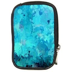 Splashes Of Color, Aqua Compact Camera Cases