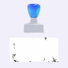 Splashes Of Color, Aqua Rubber Stamps (Medium)