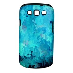 Splashes Of Color, Aqua Samsung Galaxy S III Classic Hardshell Case (PC+Silicone)