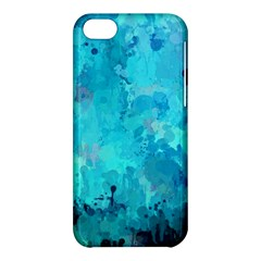 Splashes Of Color, Aqua Apple iPhone 5C Hardshell Case