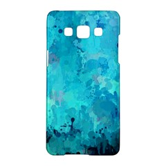 Splashes Of Color, Aqua Samsung Galaxy A5 Hardshell Case