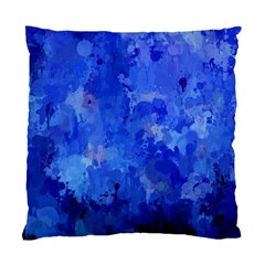 Splashes Of Color, Blue Standard Cushion Case (One Side)