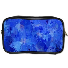 Splashes Of Color, Blue Toiletries Bags 2-Side