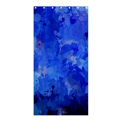 Splashes Of Color, Blue Shower Curtain 36  x 72  (Stall)