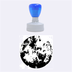 Splashes Of Color, Blue Rubber Round Stamps (Medium)