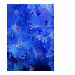 Splashes Of Color, Blue Small Garden Flag (two Sides)