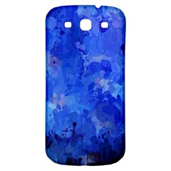 Splashes Of Color, Blue Samsung Galaxy S3 S III Classic Hardshell Back Case