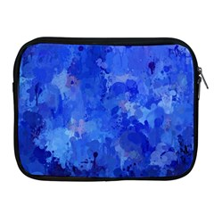 Splashes Of Color, Blue Apple iPad 2/3/4 Zipper Cases