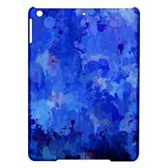 Splashes Of Color, Blue iPad Air Hardshell Cases