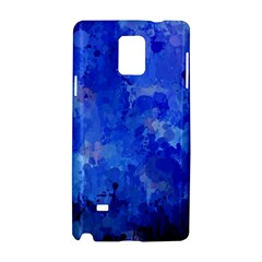 Splashes Of Color, Blue Samsung Galaxy Note 4 Hardshell Case