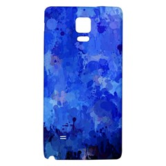 Splashes Of Color, Blue Galaxy Note 4 Back Case