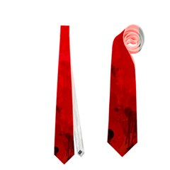 Splashes Of Color, Deep Red Neckties (One Side)