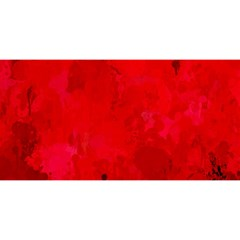 Splashes Of Color, Deep Red YOU ARE INVITED 3D Greeting Card (8x4)