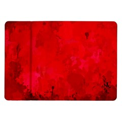 Splashes Of Color, Deep Red Samsung Galaxy Tab 10.1  P7500 Flip Case