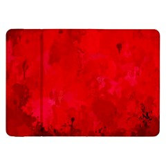 Splashes Of Color, Deep Red Samsung Galaxy Tab 8.9  P7300 Flip Case