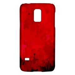 Splashes Of Color, Deep Red Galaxy S5 Mini