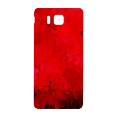 Splashes Of Color, Deep Red Samsung Galaxy Alpha Hardshell Back Case