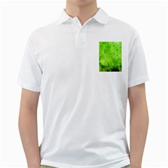 Splashes Of Color, Green Golf Shirts