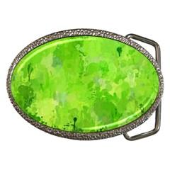 Splashes Of Color, Green Belt Buckles